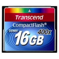 TRANSCEND Compact Flash 16 GB (400X)