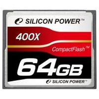 Silicon Power 400X Professional Compact Flash Card 64GB